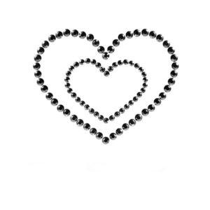 Bijoux Mimi Heart Black