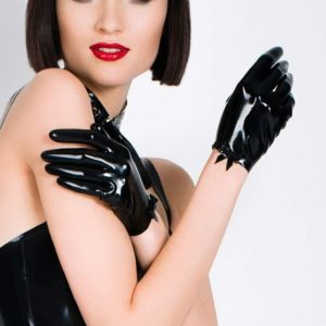 Black Fantasy Short Gloves
