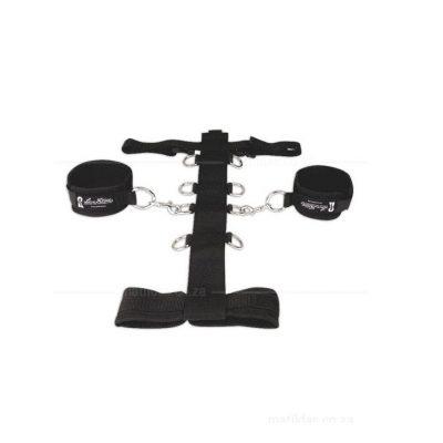 Lux Fetish Adjustable Neck & Wrist Set